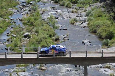 Rallye Dakar 2009, Giniel de Villiers und Dirk von Zitzewitz, VW Race Touareg