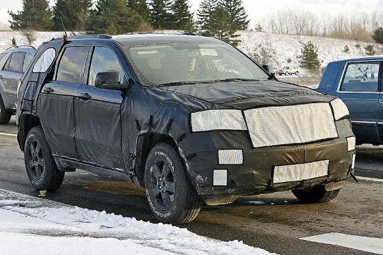 Erlkönig Jeep Grand Cherokee