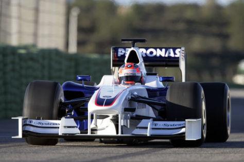 Formel 1, BMW F.109, Präsentation in Valencia