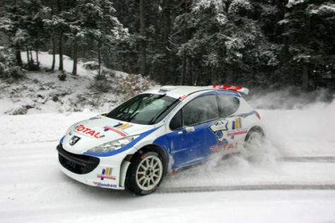 Rallye Monte Carlo 2009, Nicolas Sarrazin, Peugeot  207