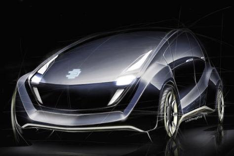 """Das """"Light Car"""" von EDAG hat eine Karosserie aus Basaltfaser."""