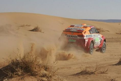 Rallye Dakar 2006, 11. Etappe