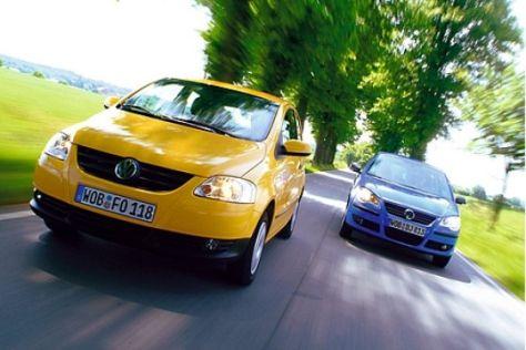 VW Fox gegen Polo
