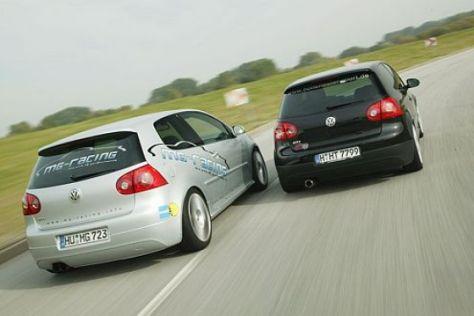 Golf GTI Hohenester vs. MG-Racing