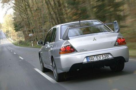 Test Mitsubishi Lancer Evolution IX