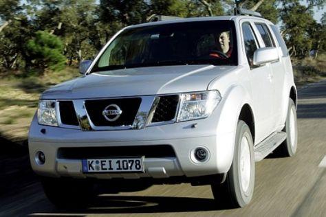 Rückruf Nissan Pathfinder und Navara