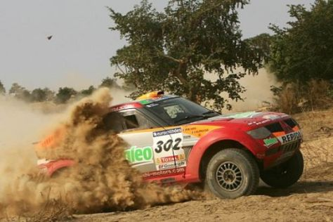 Rallye Dakar 2006, 13. Etappe