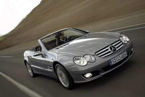 Facelift Mercedes-Benz SL