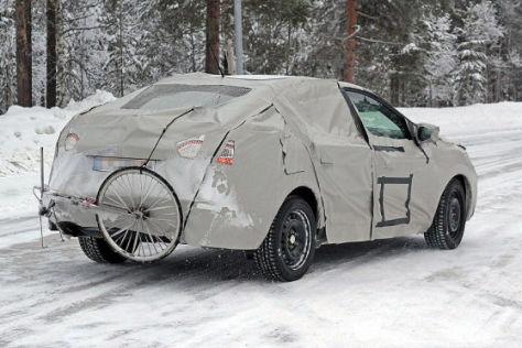 Erlkönig Renault Mégane Sedan