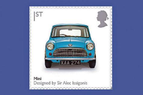 Mini Briefmarke