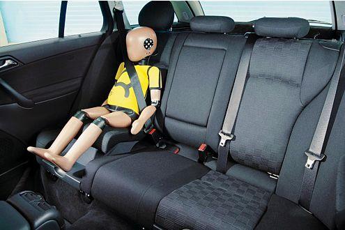 Integrierter Kindersitz Mercedes-Benz C-Klasse