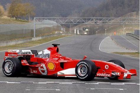 Vorstellung Ferrari 248 F1