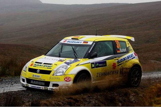 Rallye Weltmeisterschaft 2009, Rallye Irland, Aaron Burkart, Suzuki Swift 1600