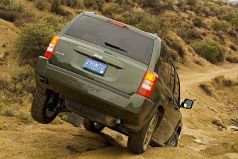 Die Chrysler-Marke Jeep hat auch das SUV Patriot im Progamm.
