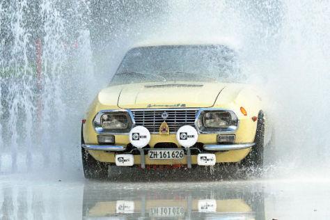 Oldtimer-Rallyetraining