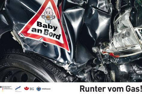 """Aktion """"Runter vom Gas"""""""