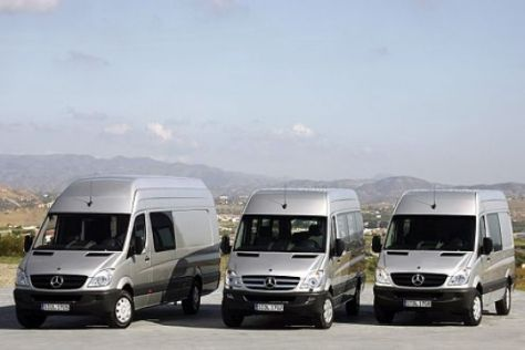 Neuer Mercedes Sprinter (2006)