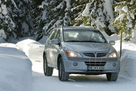 Test SsangYong Kyron