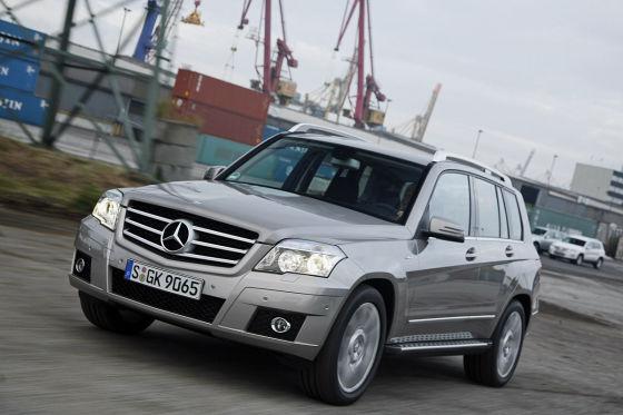 Mercedes GLK-Klasse GLK 220 CDI 4Matic Blue Efficiency