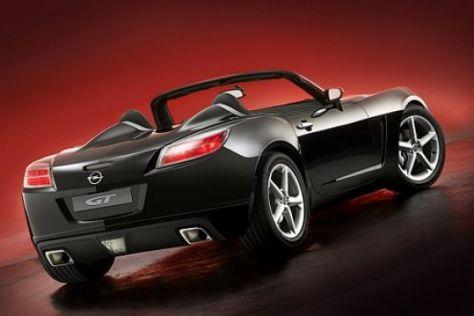Neue Fotos vom Opel GT