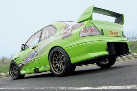 Mitsubishi Evo IX von Norris Designs
