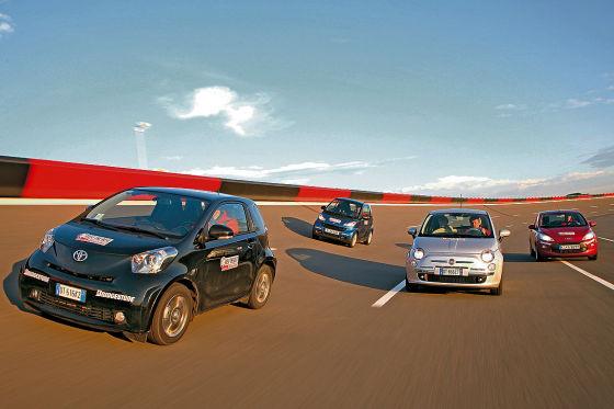 Toyota IQ Smart Fortwo Ford Ka Fiat 500