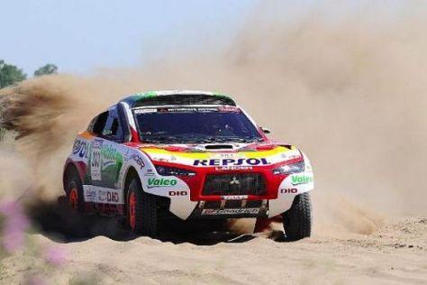 Das war es: Mitsubishi muss sparen und fährt deshalb nicht mehr bei der Dakar