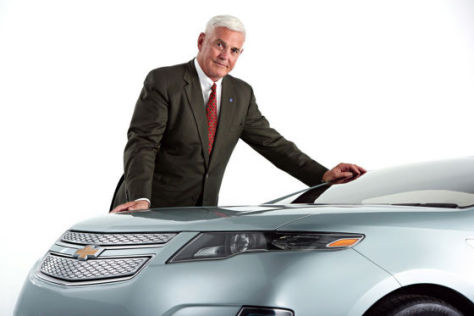 Bob Lutz mit Chevrolet Volt