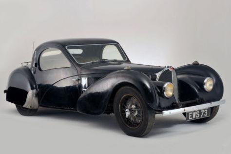 Ein 72 Jahre alter Bugatti 57S wurde in Paris für 3,4 Millionen Euro versteigert.