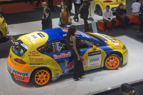 Genfer Salon 2008 Seat Leon WTCC