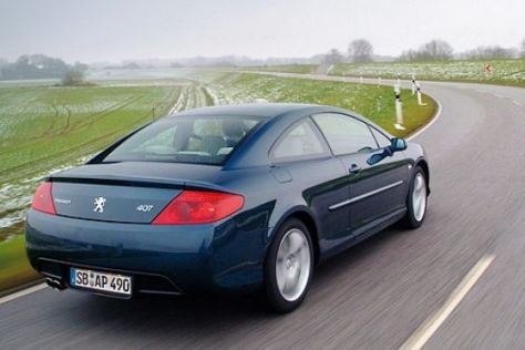 Test Peugeot 407 Coupé V6 210