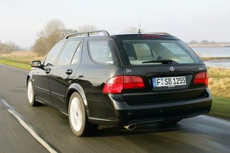 Test Saab 9-5 SportCombi 2.3 Turbo Aero