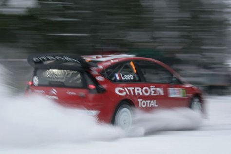 Rallye-WM 2009, Norwegen, Sébastien Loeb, Citroën C4 WRC