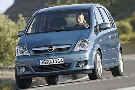 Facelift Opel Meriva (2006)