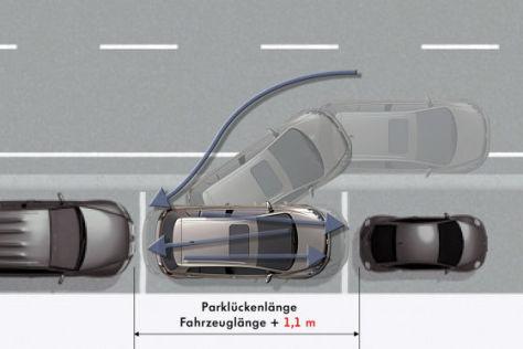 Park Assist von Volkswagen (2009)