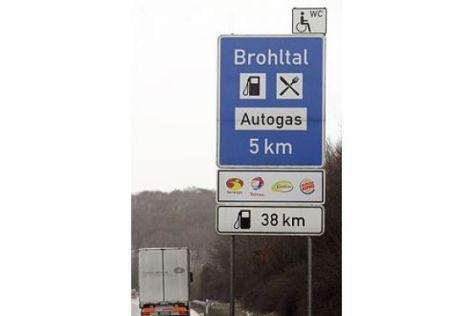 Autobahnraststätten