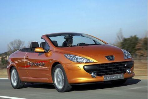 Peugeot 307 CC mit Diesel-Hybrid
