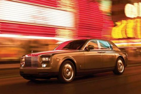 Facelift Rolls-Royce Phantom (2009)