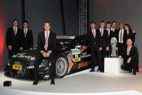 Audi DTM-Fahrerkader 2009