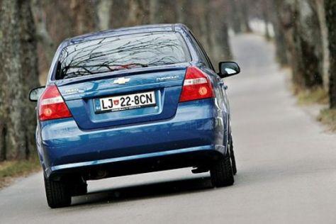 Fahrbericht Chevrolet Aveo 1.2 LS
