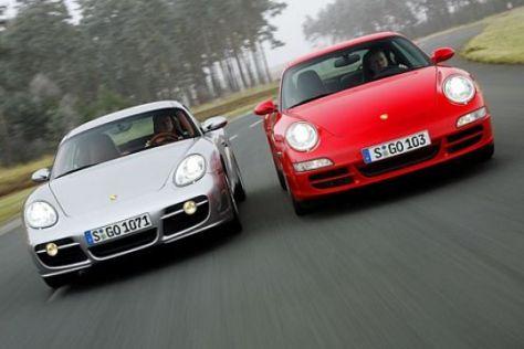 Porsche Cayman S gegen 911 Carrera
