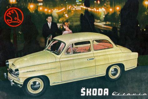Skoda Octavia Baureihe 1