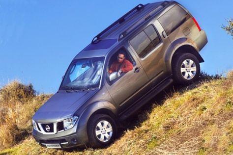 4x4 Challenge 2006 von AUTO BILD und Nissan