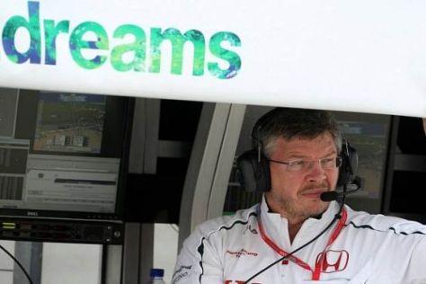 Ross Brawn schürte schon 2008 immer wieder Hoffnungen auf die neue Saison