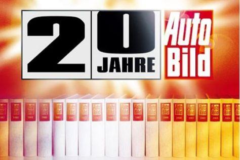 Das AUTO BILD Jubiläums-Album