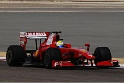 Felipe Massa hatte am Abschlusstag nur wenige Probleme mit dem neuen F60