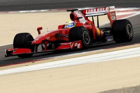 Zwölf mehr als der Teamkollege: Felipe Massa fuhr in Bahrain 1.796 Kilometer