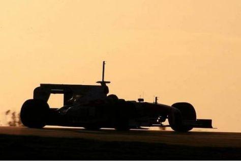 Es läuft blendend für Toyota: Timo Glock war heute schneller als Ferrari und BMW