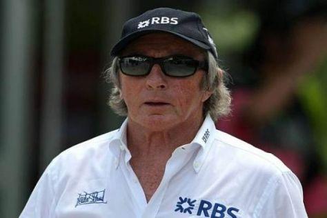 Jackie Stewart tritt als Botschafter der Royal Bank of Scotland (RBS) auf