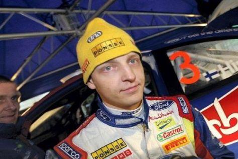 Mikko Hirvonen musste sich in Norwegen um 9,8 Sekunden geschlagen geben